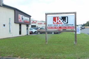 J & J BODY SHOP and AUTOMOTIVE - Serving the Hanover, King William, King & Queen & Richmond - Located in Mechanicsville, VA.
