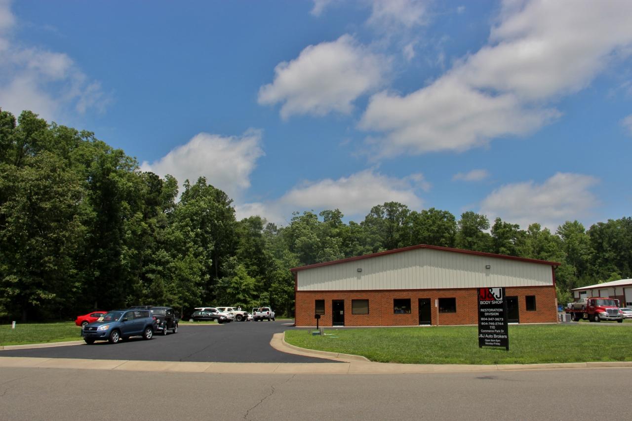 J & J BODY SHOP RESTORATION DIVISION in Manquin, Virginia.