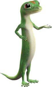 J&J BODY SHOP Geico Gecko